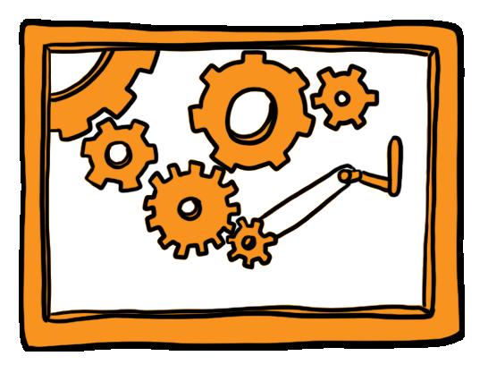 Graphic Recording Technischer Rahmen