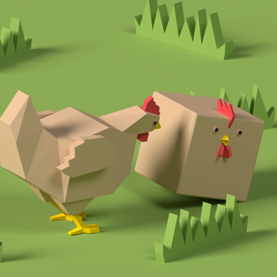 Chicken Cube Film