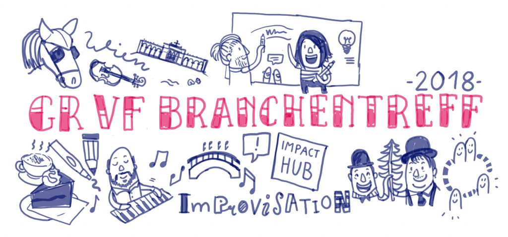 GR VF Branchentreff Wien Graphic Recording Illustration